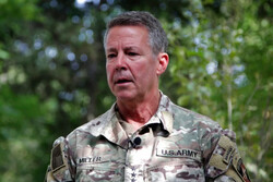 فرمانده ارتش آمریکا نسبت به وقوع جنگ داخلی در افغانستان هشدار داد