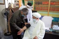 امام جمعه یزد دوز اول واکسن برکت را دریافت کرد
