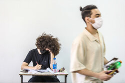 Uni. entrance exam for art students