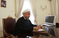 صدر روحانی کا عدلیہ کے نئے سربراہ کو مبارکباد کا پیغام