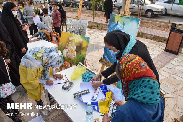افتتاح پروژه پیاده راه ورزش در شیراز