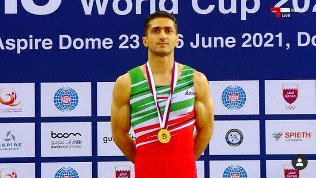 ورزشکار شیرازی قهرمان جهان سهمیه ژیمناستیک المپیک را از دست داد
