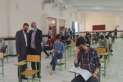 ۲۲ هزار و ۲۲۵ نفر داوطلب کنکور در رشته های مختلف در استان هستند