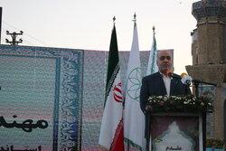 تقاطع غیرهمسطح شهید سلیمانی در شهر کرمانشاه افتتاح شد