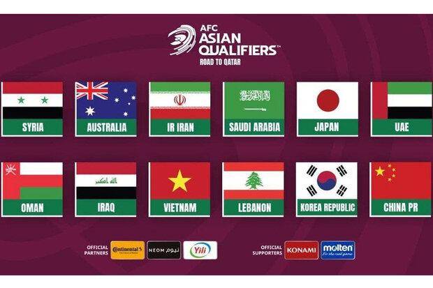 حریفان تیم ملی فوتبال ایران مشخص شدند/ گروه دوم سخت و دشوارتر