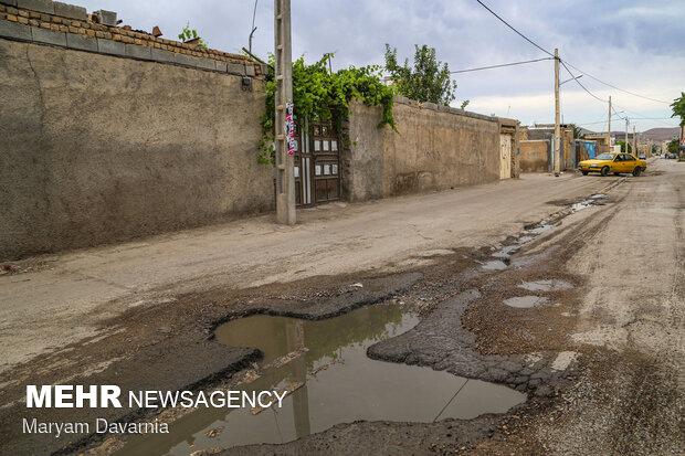 ۲۳ هزار متر مربع از معابر روستایی فاروج آسفالت میشوند