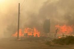 إجلاء مئات السكان غربي كندا اعلان بسبب الحرائق وموجة الحر