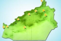 بارش باران و رعد و برق در استان سمنان/ آسمان ابری میشود