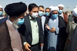 استقبال مردم و مسئولان فیروزآباد از خطیب جدید جمعه شهرستان