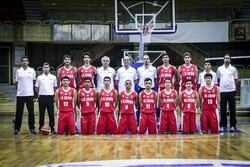 Iran U19 basketball team