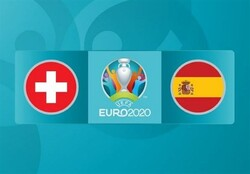 پیروزی یک نیمه ای اسپانیا مقابل سوئیس