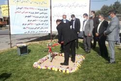 کلنگ زنی فاز اول زیباسازی ورودی شهر ایلام/زیرگذر کشوری افتتاح شد