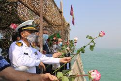 گلباران محل شهادت ۲۹۰ مسافر ایرباس در آب های خلیج فارس