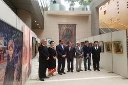 """اقامة معرض """"التقارب الثقافي بين إيران واليابان"""" في طوكيو"""
