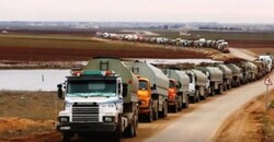 الاحتلال الأمیركي يواصل سرقة النفط السوري