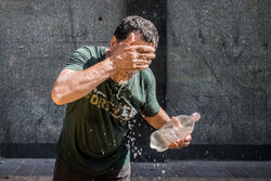 People of Tehran in face of summer heat