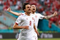 صعود دانمارک به نیمه نهایی با حذف چک