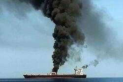 استهداف سفينة شحن اسرائيلية
