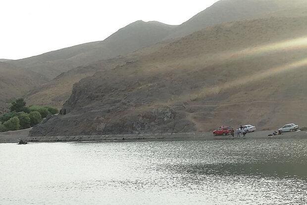 جوان ۱۸ ساله در سد سنجگان قم غرق شد