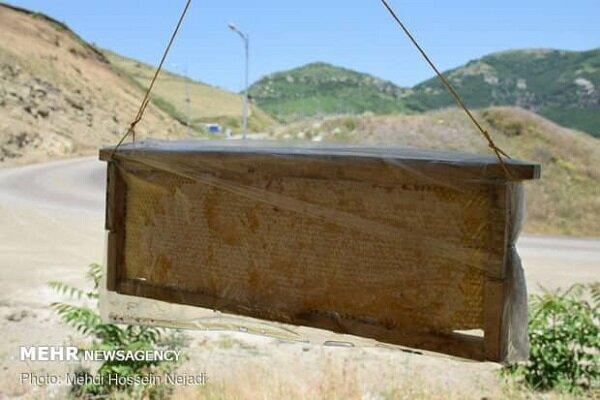 İran'ın turistlik köyünde organik bal üretimi