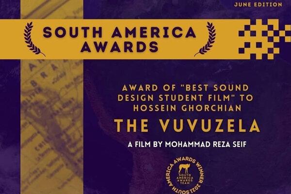"""""""Vuvuzela"""" wins Best Sound Design Award in Brazil Filmfest"""