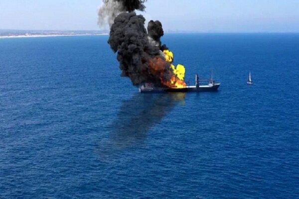 کشتی رژیم صهیونیستی در شمال اقیانوس هند هدف قرار گرفت