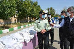 Police confiscate close to 2 tons of narcotics in W Tehran