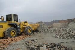 رفع تصرف ۱۱ هزار مترمربع اراضی رودخانه ها در چناران
