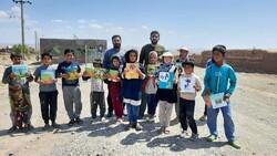 اهدای ۷۰۰جلد کتاب به کودکان محروم شرق کشور