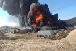 Massive explosion hit al-Hadi govt. military camp in S Yemen