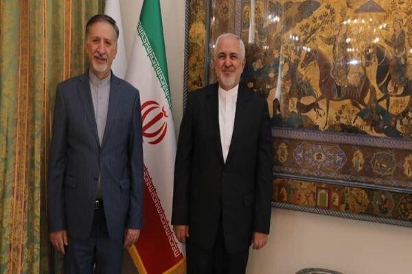Iran's new ambassador to UK will arrive London on Sun.