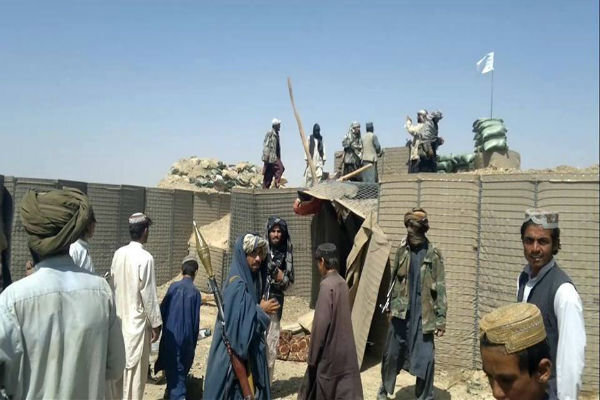 Taliban take control of a military base in Kabul: report