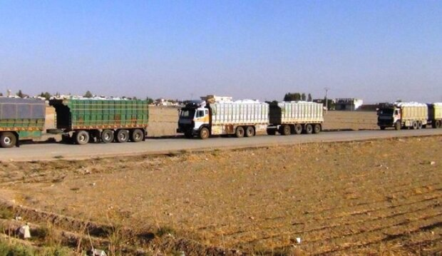 US troops smuggle 45 oil, wheat trucks out of Syria