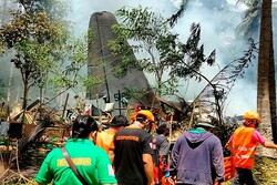 Death toll in Philippine military plane crash up to 50