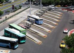 انتقال ایستگاههای اتوبوس راسته کتابفروشی ها در خیابان انقلاب به پایانه کاوه