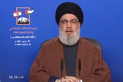 US military presence in Iraq is mere occupation: Nasrallah