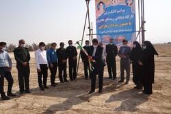 عملیات اجرایی کارگاه عبابافی در دشتی آغاز شد