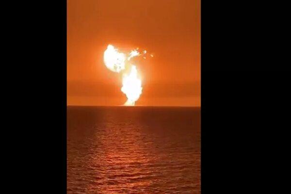 Hazar Denizi'nde büyük patlama