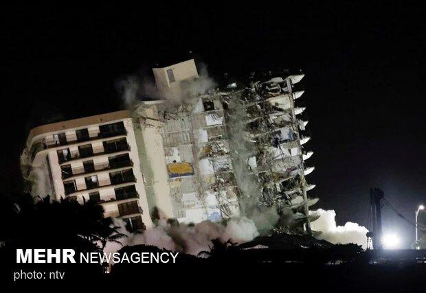 Miami'de çöken binada ölü sayısı 28'e yükseldi