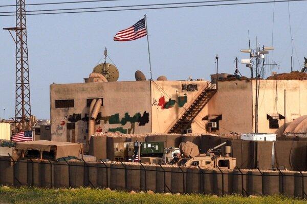 حمله راکتی به پایگاه نظامی آمریکا در سوریه