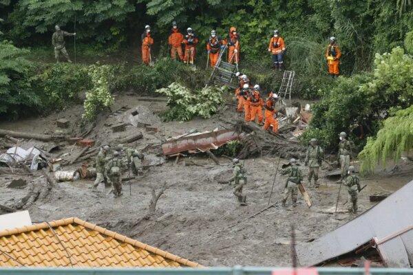 رانش زمین در ژاپن/ ۳ تن کشته و ۱۱۳ تن مفقود شدند
