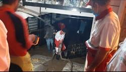 امدادرسانی به ۳۰۸ نفر در سیلاب آزادشهر/ ۷۷ واحد مسکونی از آب تخلیه شد