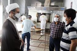 بازدید نماینده ولی فقیه در خراسان شمالی از نانواییهای بجنورد