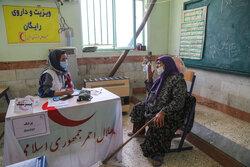 ۸۳۵ درمان سرپایی در پایانههای مرزی خوزستان انجام شد