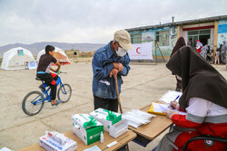 استقرار تیم های BHCU در مناطق زلزله زده گرمه و جاجرم
