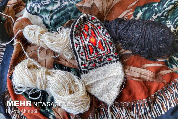 İran'da çorap örücülüğü