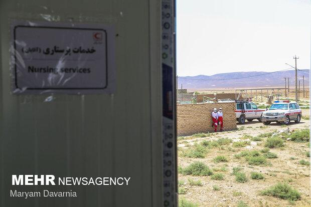 BHCU teams assist people in quake-hit areas in N. Khorasan