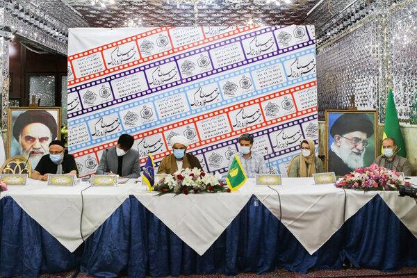 امضای سند همکاری میان جشنواره صالح و شبکه کربلا