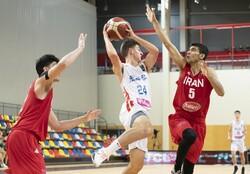 Iran U19 basketball