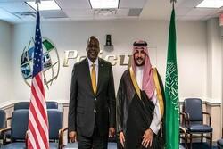 Khalid bin Salman discusses Iran with Pentagon